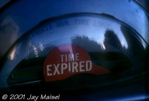 © 2001 Jay Maisel - Time Expired